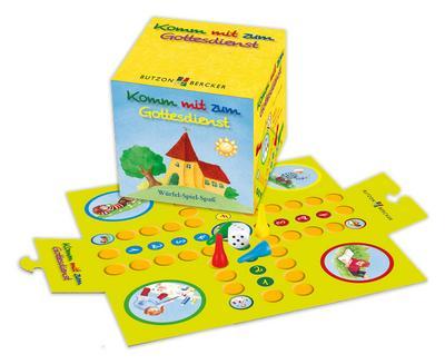 Komm mit zum Gottesdienst: Würfel-Spiel-Spaß