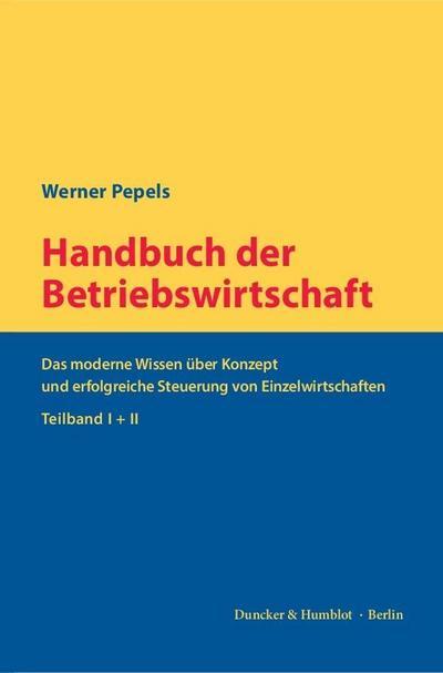 Handbuch der Betriebswirtschaft