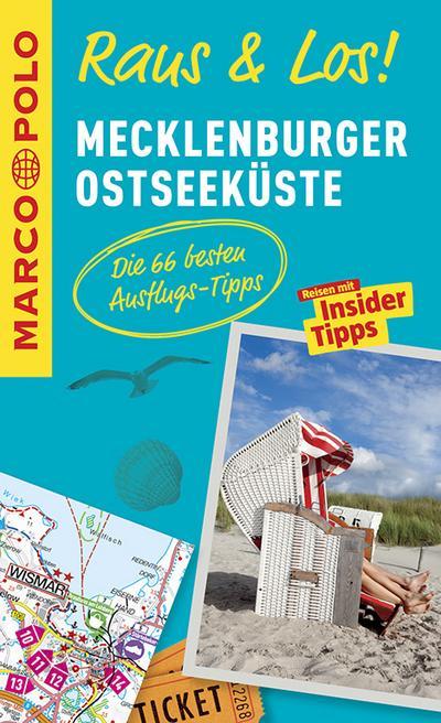 MARCO POLO Raus & Los! Mecklenburger Ostseeküste: Das Package für unterwegs: Der Erlebnisführer mit großer Erlebniskarte