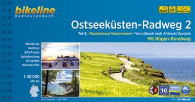 Bikeline Radtourenbuch Ostseeküsten-Radweg 2: Lübeck - Ahlbeck mit Rügen