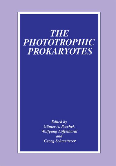 Phototrophic Prokaryotes