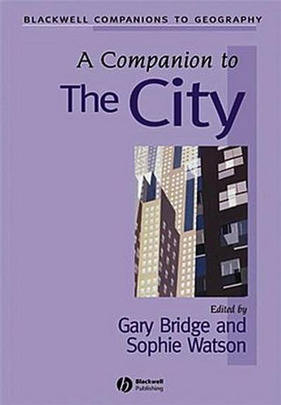 A Companion to the City