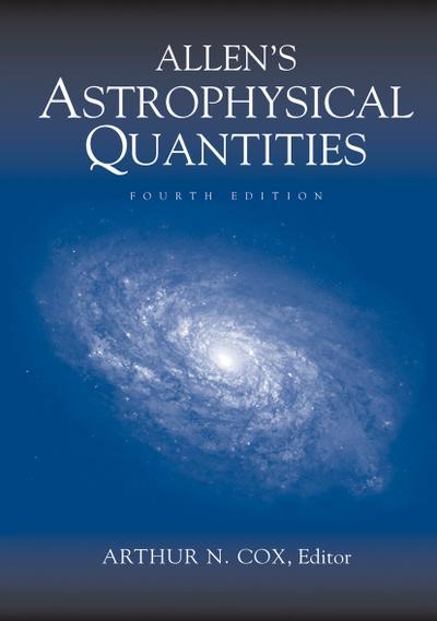 Allen's Astrophysical Quantities