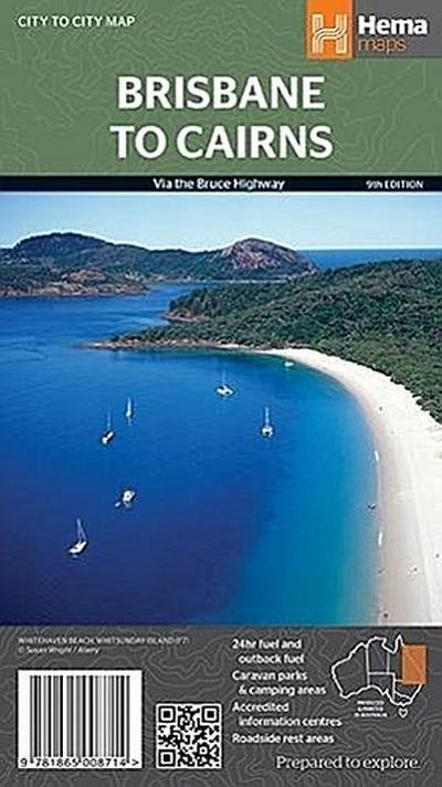 Brisbane to Cairns OLD 1 : 2 000 000