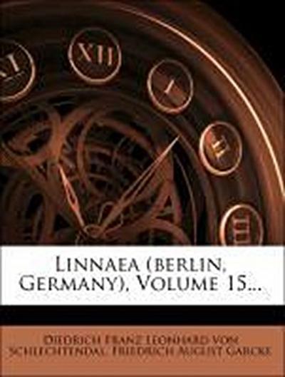 Linnaea, fuenfzehnter Band