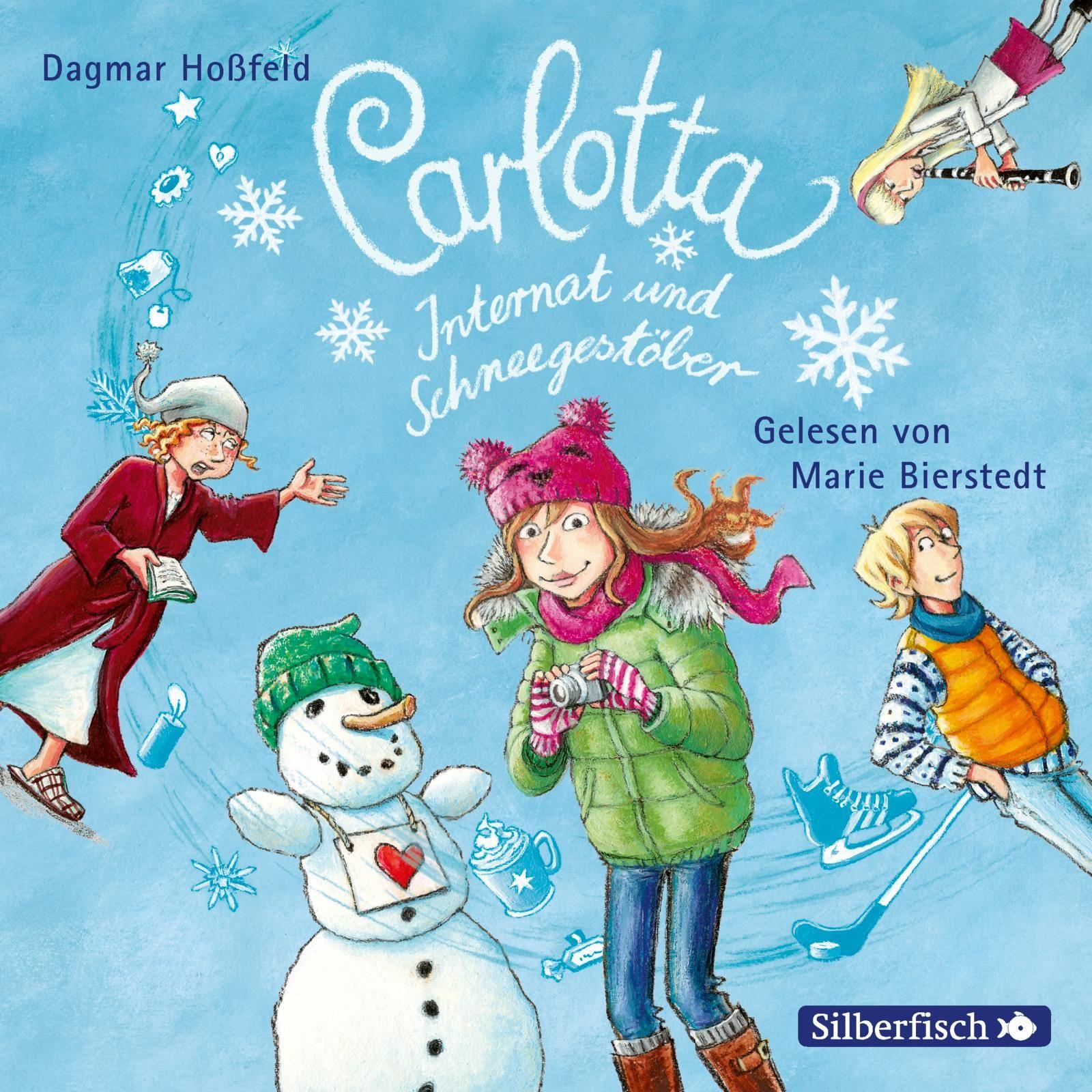 Carlotta Extraband: Internat und Schneegestöber, Dagmar Hoßfeld