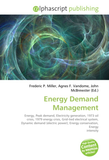 Frederic P. Miller / Energy Demand Management /  9786130262570