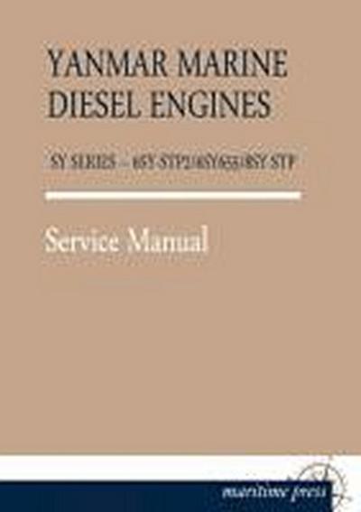 YANMAR MARINE ENGINES SY SERIES - 6SY-STP2/6SY655/8SY-STP