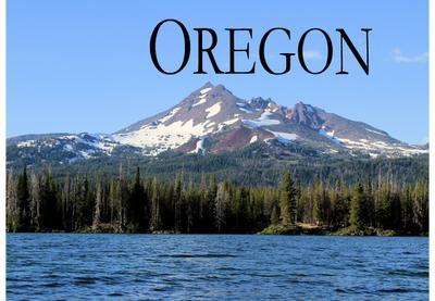 Oregon - Ein Bildband