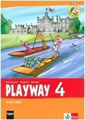 Playway 4. Ab Klasse 1. Ausgabe Hamburg, Nordrhein-Westfalen, Rheinland-Pfalz, Baden-Württemberg: Pupil's Book Klasse 4 (Playway. Für den Beginn ab Klasse 1. Ausgabe ab 2016)