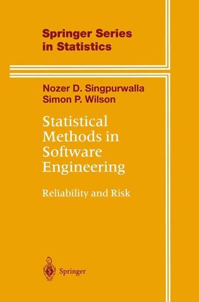Statistical Methods in Software Engineering