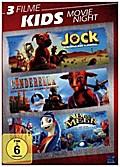 Kids Movie Night, 3 DVD