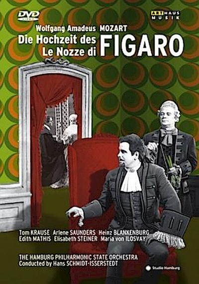 Die Hochzeit des Figaro, 1 DVD
