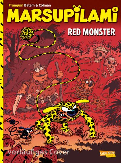 Marsupilami 06: Red Monster