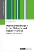 Dokumentenanalyse in der Bildungs- und Sozialforschung