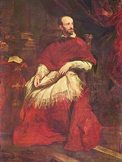 Anthonis van Dyck - Porträt des Kardinal Bentivoglio - 200 Teile (Puzzle)