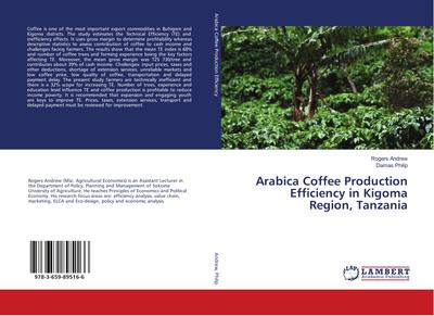 Arabica Coffee Production Efficiency in Kigoma Region, Tanzania