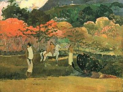 Paul Gauguin - Frauen und Schimmel - 100 Teile (Puzzle)