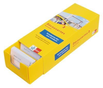 Découvertes. Série jaune (ab Klasse 6). Ausgabe ab 2012 - Karteikarten-Box zum Schülerbuch. Bd.2