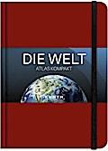Taschenatlas Die Welt - Atlas kompakt, rot