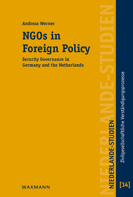 NGOs in Foreign Policy Andreas Werner
