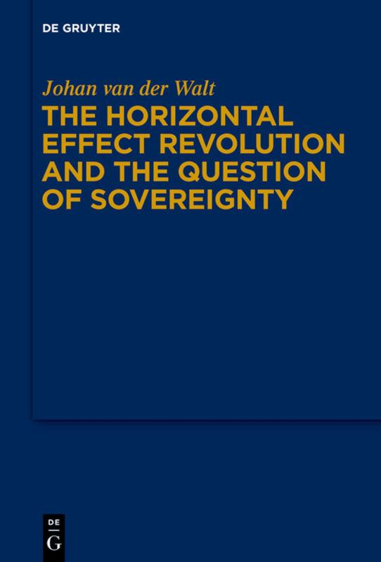 The Horizontal Effect Revolution and the Question of Sovereignty Johan van  ...