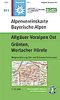 DAV Alpenvereinskarte Bayerische Alpen 03. Al ...