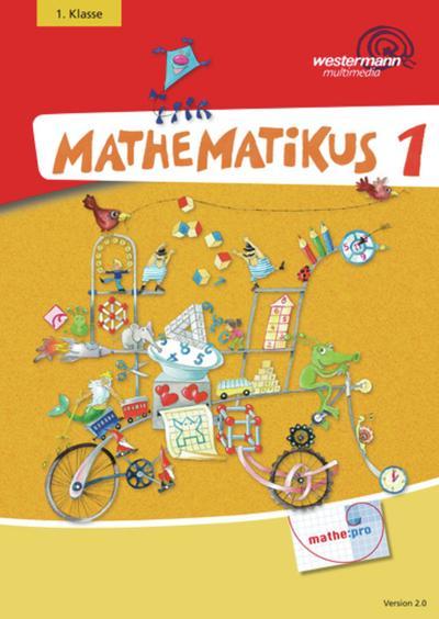 Mathematikus 1. CD-ROM für Windows 95/98/2000/NT/ME/XP/Vista