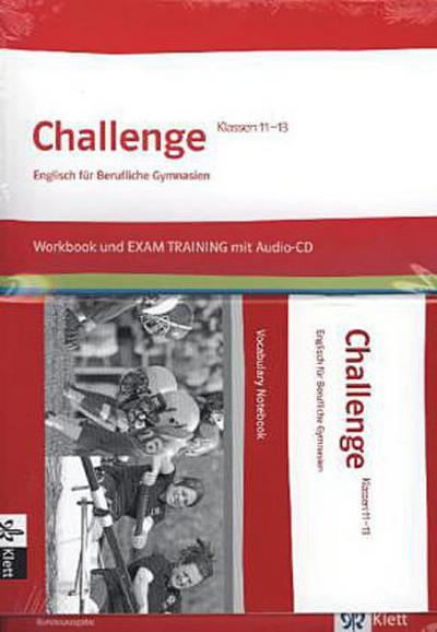 Challenge Klasse 11. bis 13. Arbeitsmaterial-Paket (Workbook und Vocabulary Notebook). Bundesausgabe