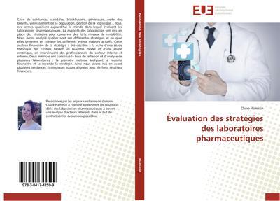Évaluation des stratégies des laboratoires pharmaceutiques