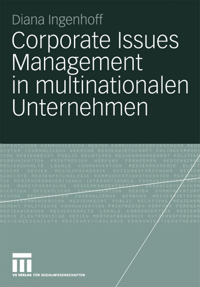 Corporate Issues Management in multinationalen Unternehmen
