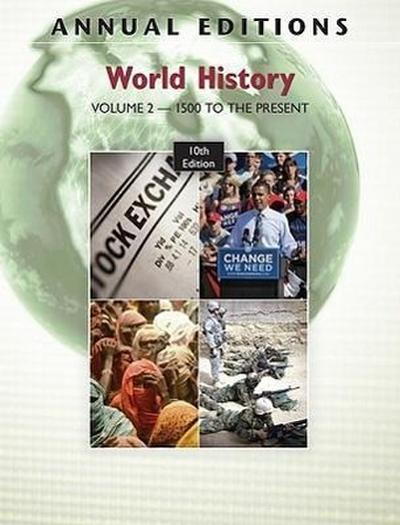 World History, Volume 2: 1500 to Present