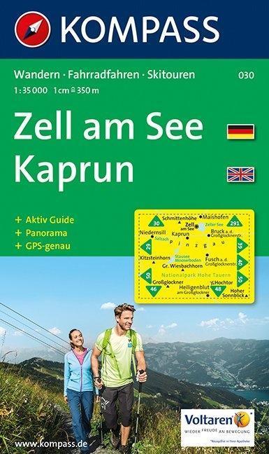 Zell am See. Kaprun.  1 : 35 000