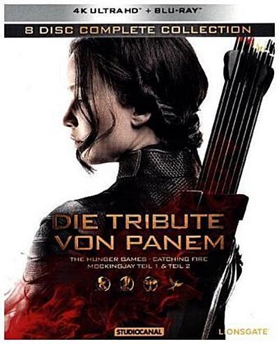Die Tribute von Panem - Complete Collection 4K, 8 UHD-Blu-rays