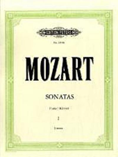 Sonaten für Klavier, Band 1