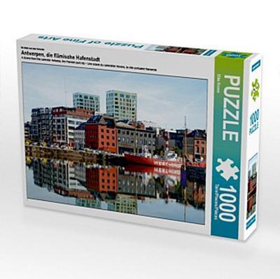 Ein Motiv aus dem Kalender Antwerpen, die flämische Hafenstadt (Puzzle)