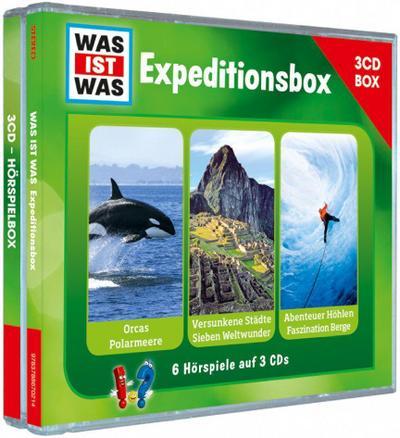 WAS IST WAS 3-CD-Hörspielbox 'Expedition'