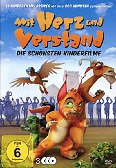 Mit Herz und Verstand - Die schönsten Kinderfilme (3 DVDs) - Great Movies Gmbh - DVD, Englisch| Deutsch, DVD 1 Temple, - Keine Info -, - Keine Info -