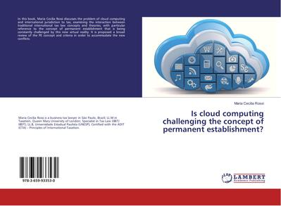 Is cloud computing challenging the concept of permanent establishment?