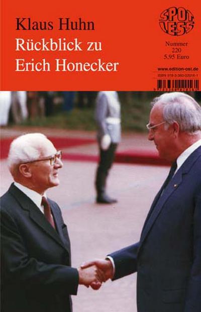 Huhn: Rückblick zu Honecker / 220
