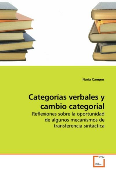 Categorías verbales y cambio categorial