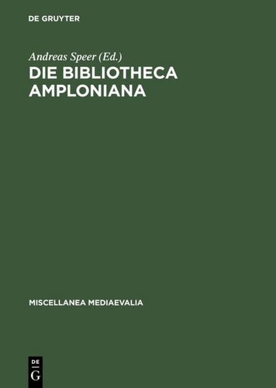 Die Bibliotheca Amploniana