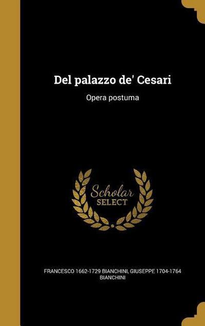 LAT-DEL PALAZZO DE CESARI