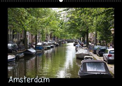Amsterdam (Wandkalender 2015 DIN A2 quer)