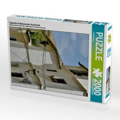 Typische Andalusische Hausfront (Puzzle)