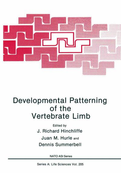 Developmental Patterning of the Vertebrate Limb