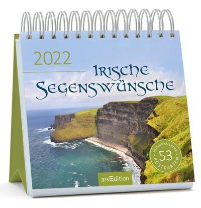 Postkartenkalender Irische Segenswünsche 2022