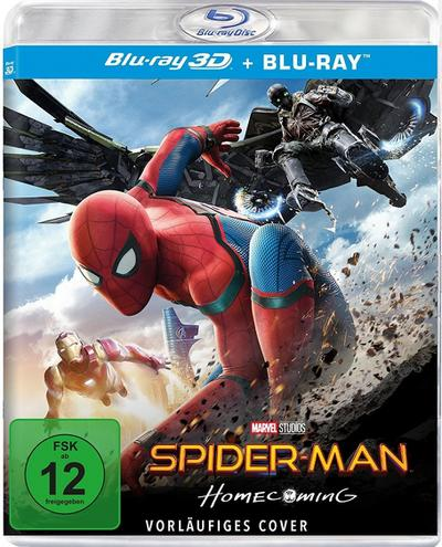 Spider-Man: Homecoming - 2 Disc Bluray