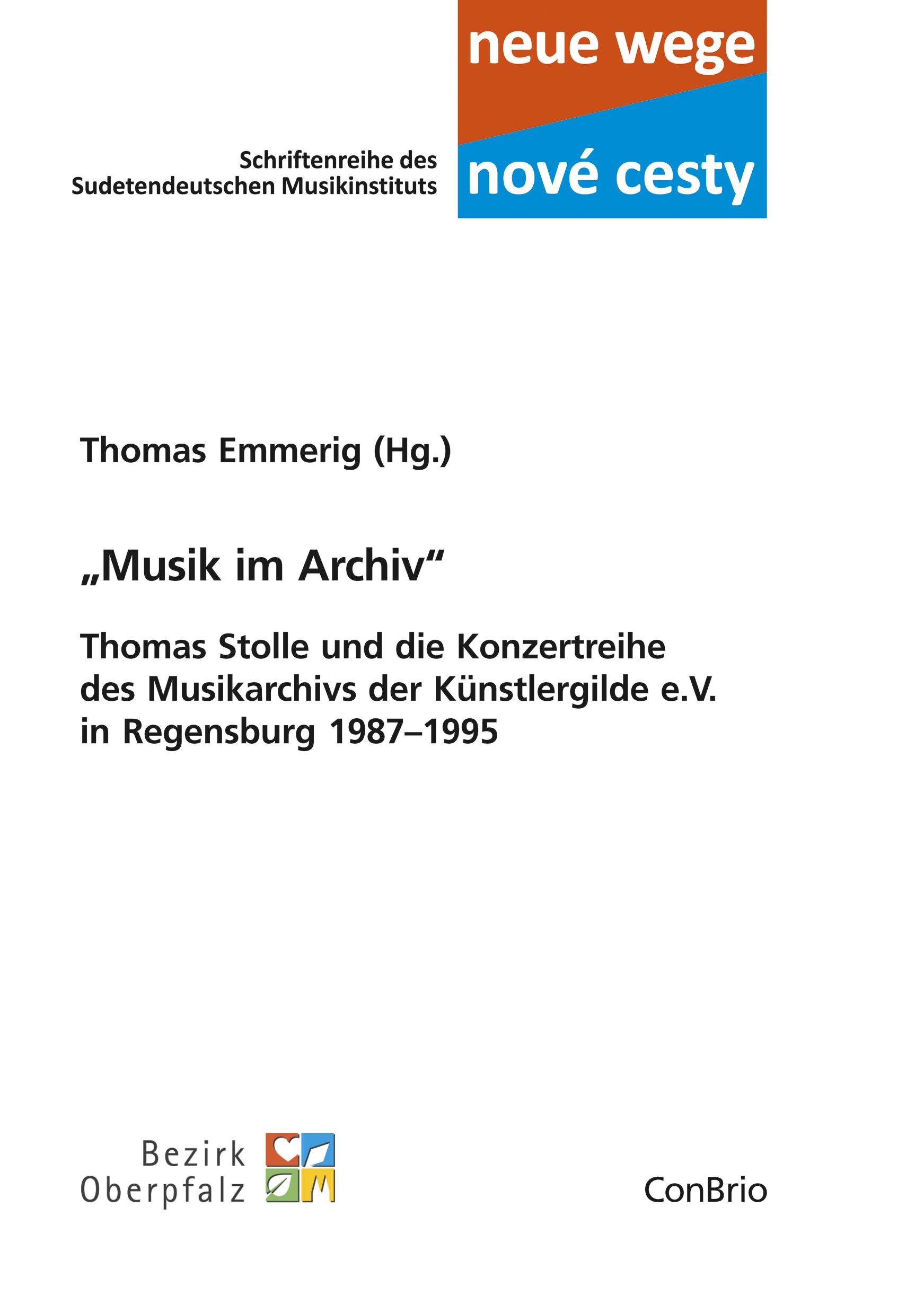 """""""Musik im Archiv"""" - Thomas Stolle und die Konzertreihe des Musikarchivs der ..."""