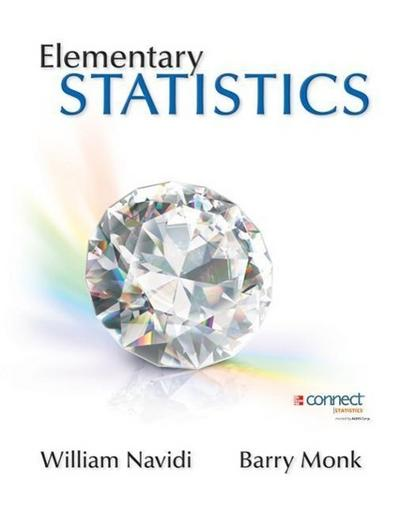 Elementary Statistics with Formula Card and Data CD with Connect Hosted by Aleks Access Card